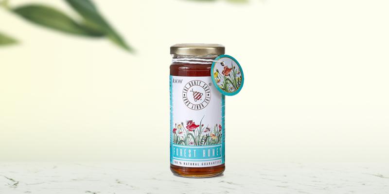The Honey Shop Raw Forest Honey