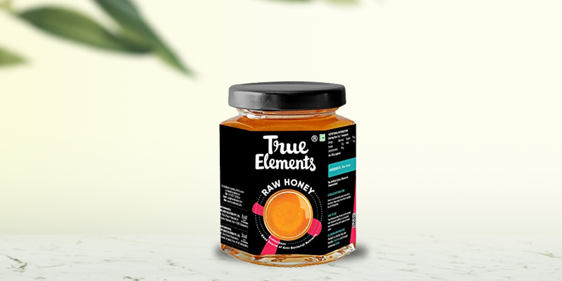True Elements Unprocessed Raw Honey