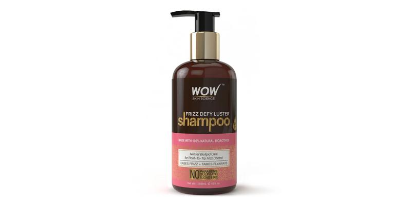 WOW Skin Science Frizz Defy Luster Shampoo