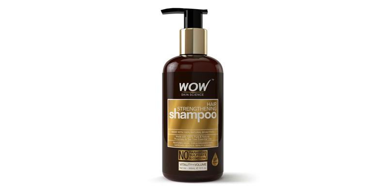 WOW Skin Science Hair Strengthening Shampoo