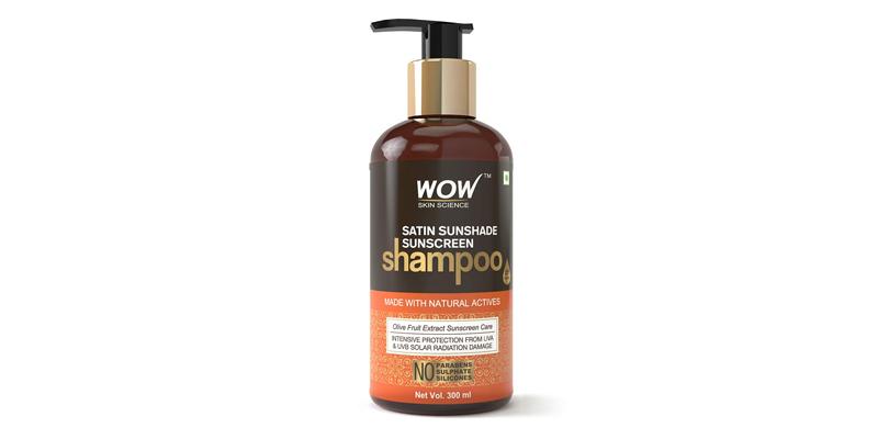 WOW Skin Science Satin Sunshade Sunscreen Shampoo