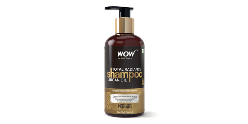 WOW Skin Science Total Radiance Argan Oil Shampoo