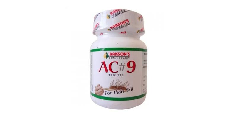 Bakson AC9 Tablets With Jaborandi and Arnica