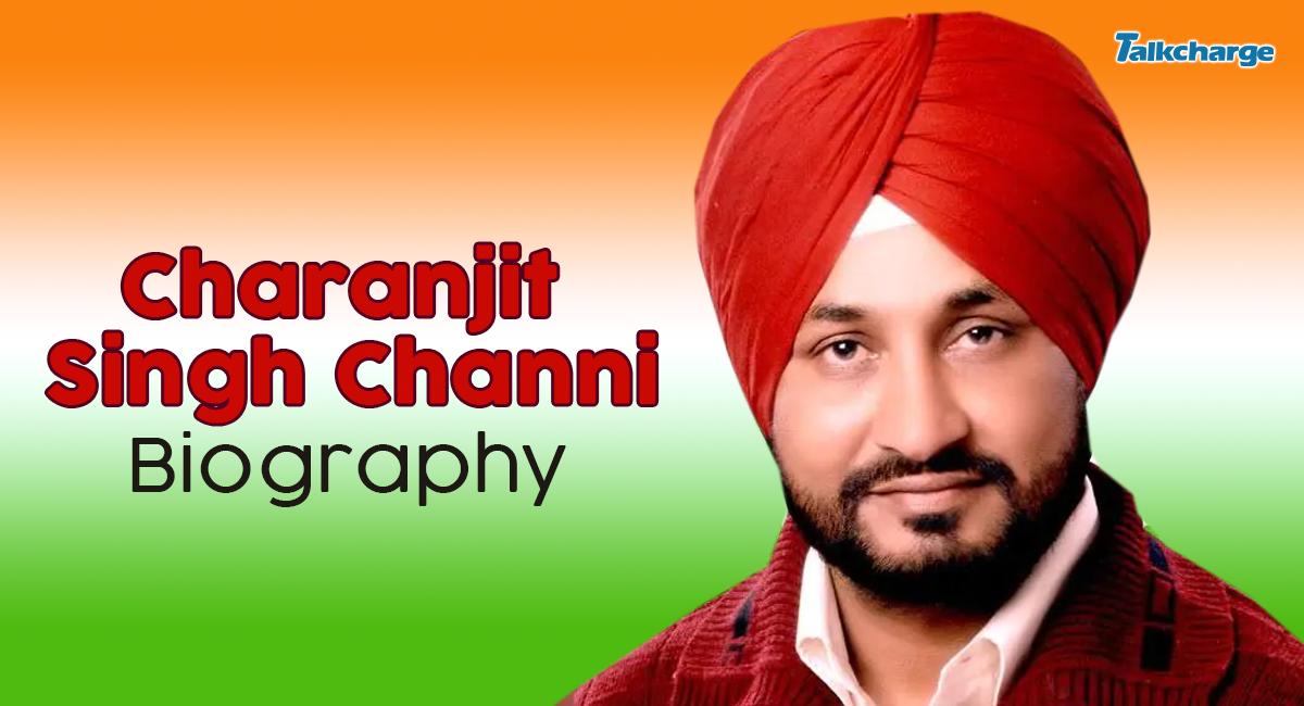 charanjit singh channi biography