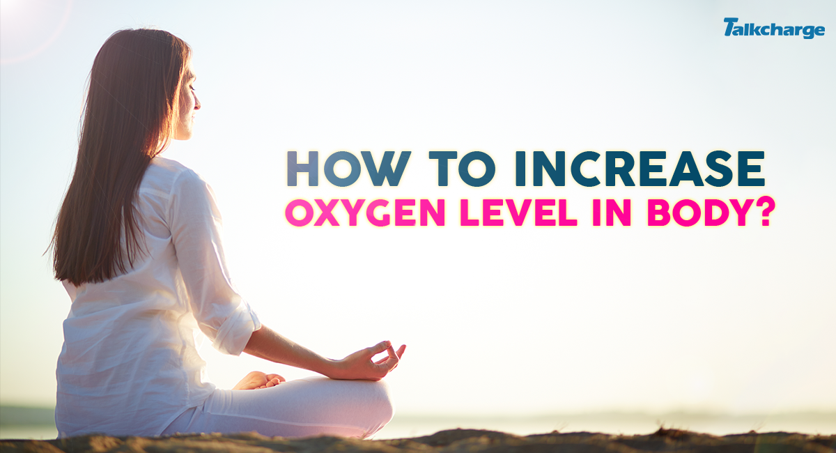 how to increase oxygen level in body