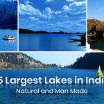 15 Largest Lakes in India- Natural and Man-Made