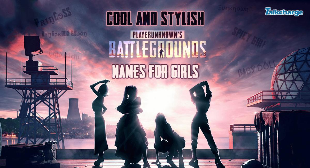 PUBG Names for Girls