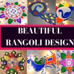 50 Beautiful & Creative Diwali Rangoli Designs