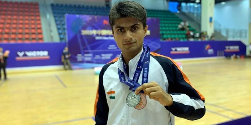 Suhas Yathiraj Badminton