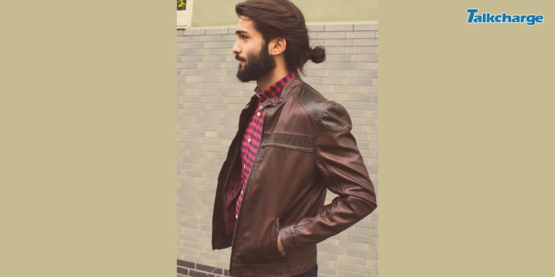 Twist-In Bun Hairstyle for Men