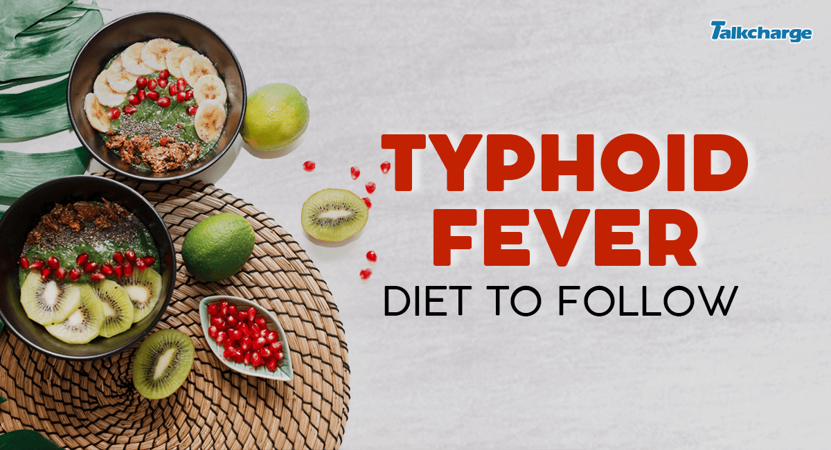 typhofid fever diet