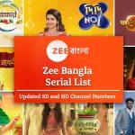 Zee Bangla Serial List 2021: Timings, Schedule & Synopsis