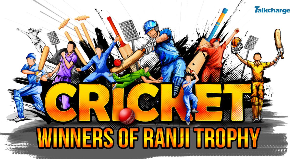 ranji trophy winners list
